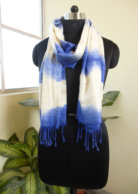 Silk tie and dyed Scarves  - 2822336
