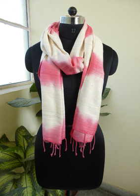 Silk tie and Dyed Scarves  - 2822433