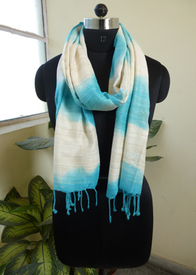 Silk tie and dyed Scarves - 2822432
