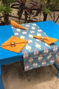 Koyal gudem - Table Runner - 6418246 and Napkin - 6415233