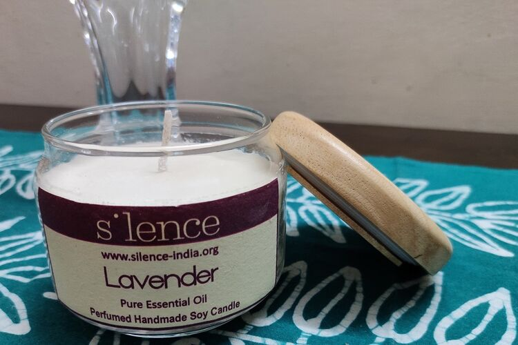 Handmade Soy Candle - Lavender