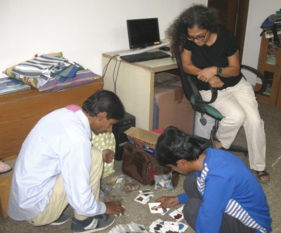 Then Nivedita from Kumbaya arrived and loved what Khadim are doing s