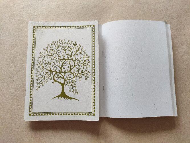 Tree Print Notebook