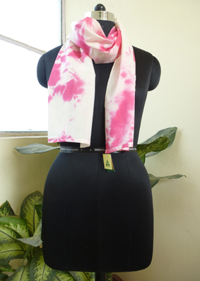 Cotton tie and Dyed Scarves  - 2822407