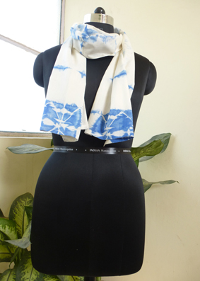 Cotton tie and Dyed Scarves  - 2822404