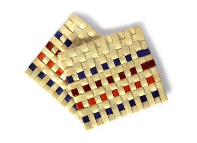 Plam leaf mats