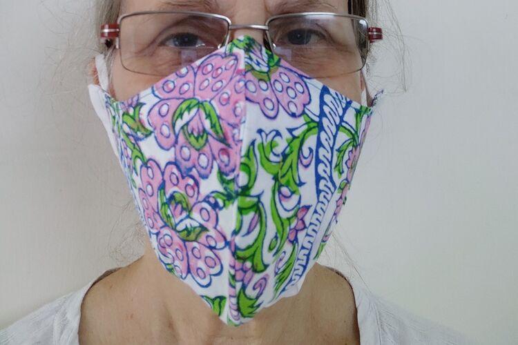 shaped mask