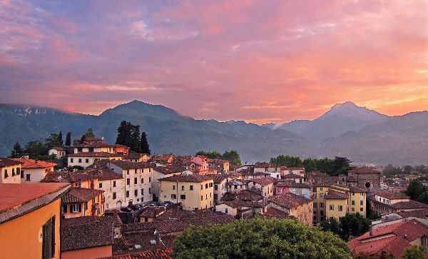 Sunset - Barga