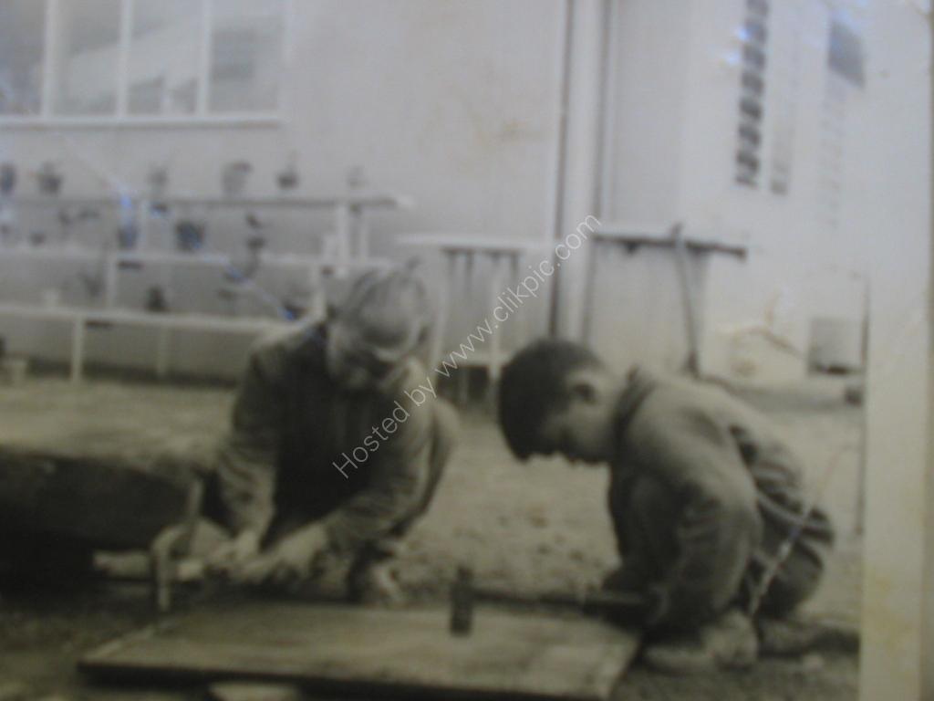 1962  Me as a Carpenter,Grange SA