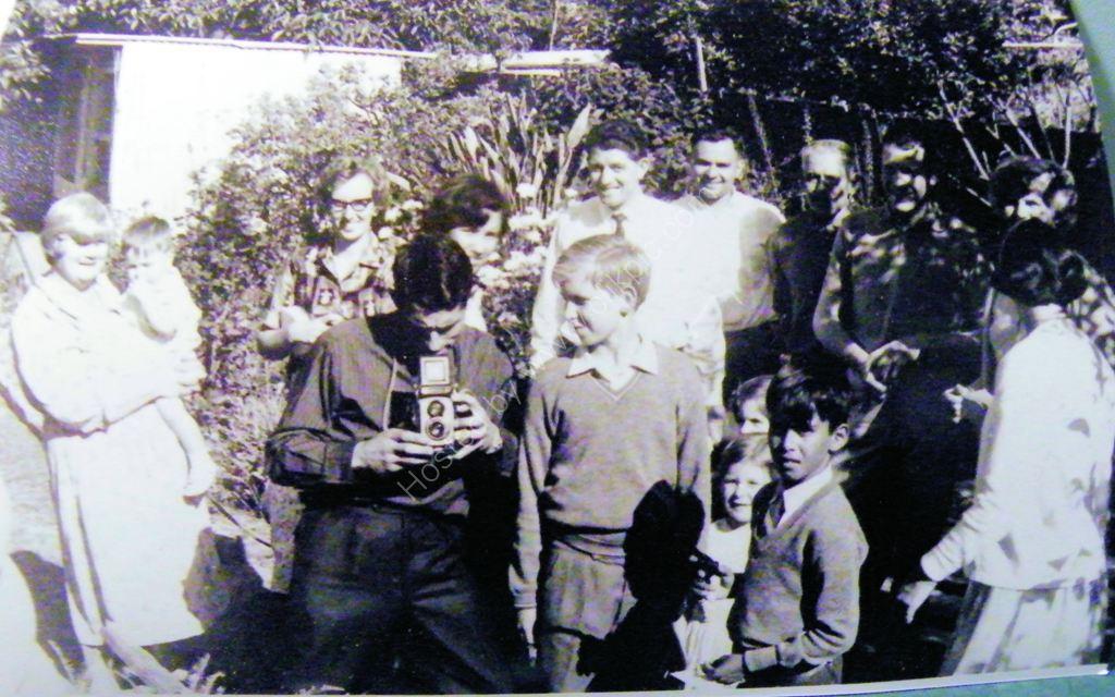 1966 Xmas with Uncle n Aunties Kensington Gdns Adelaide SA
