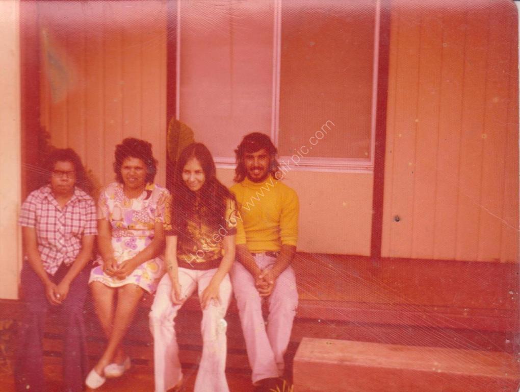 1973 PORT AUGUSTA SA Ranger Lellie Lennon June McInerney Mick McInerney