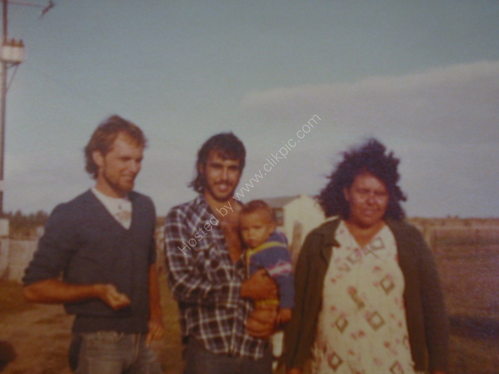 1977 the 3 brothers and Mum Goolwa SA