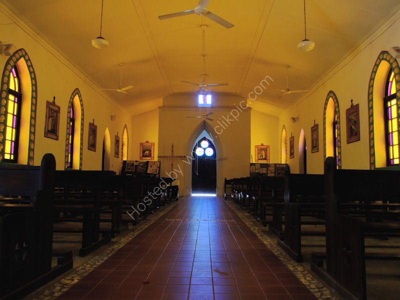 Beagle Bay Church ailse