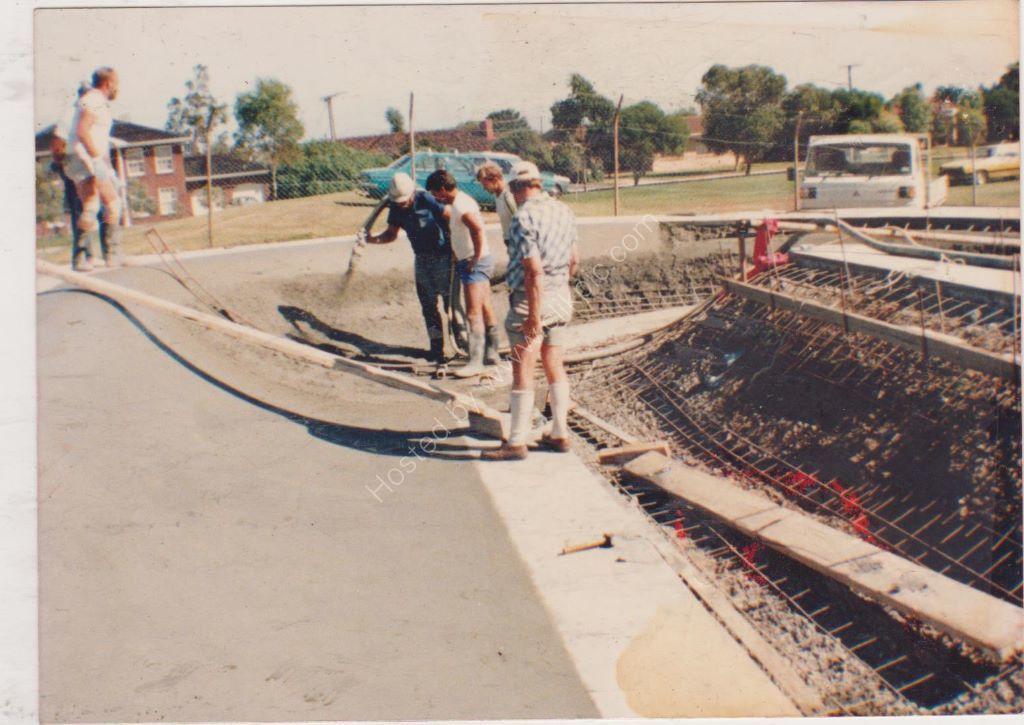 SKATEBOARD RINK FINDON 1984