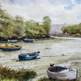 Batson Creek, Salcombe, by Alan Chown