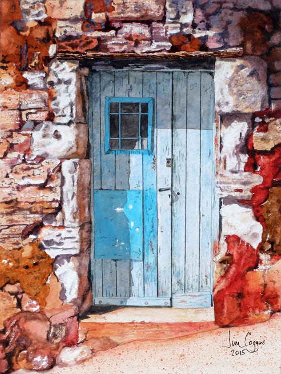 Blue Door, by Jim Coggins