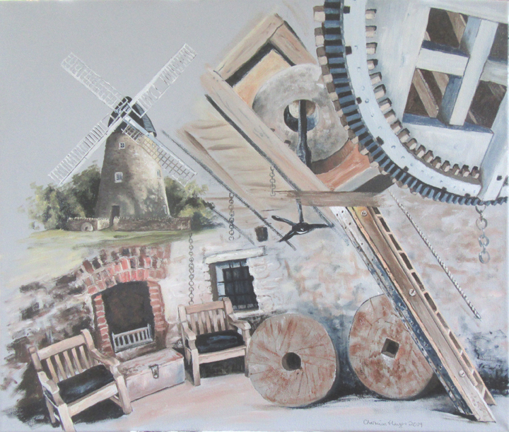 Bradwell Mill, by Charmian Hayes