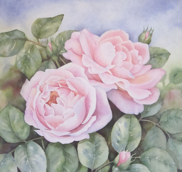 Favourite Blooms, by Hazel Brown