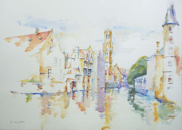 Bruges, by David Wells