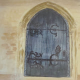 Church Door Cranfield, by Brenda Burch