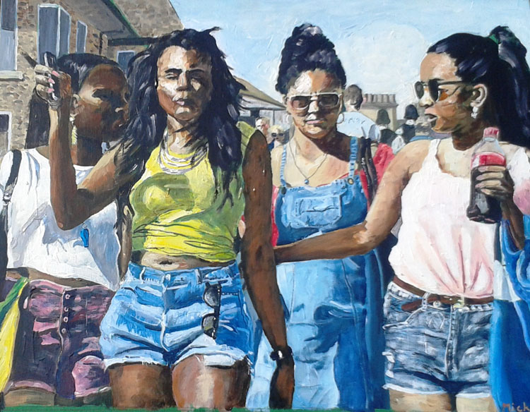 Carnival Girls, by Mike Bloor