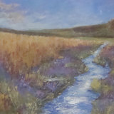 Moorland Stream, by Brenda Fisher