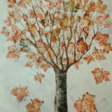Autumn Tree, by Su Gibbon