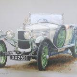 Frazer Nash Anzini Sport 1925, by Charmian Hayes