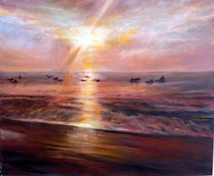 Tenby Sunrise, by Irene Foster