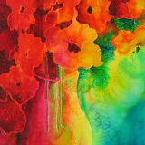 Poppies in a Vase, by Jan Pursey-Grange