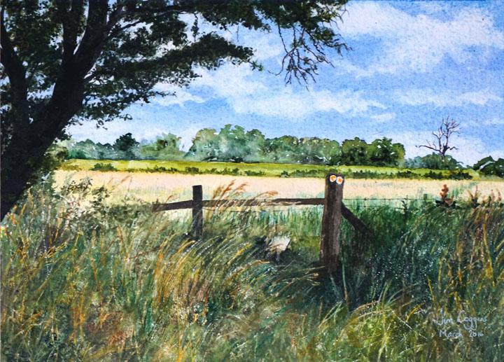 Stile in Bow Brickhill by Jim Coggins