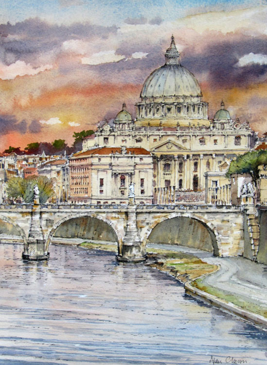 Rome, by Alan Chown