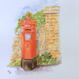 The Old Victorian Postbox, by Hazel Wakeman