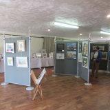 Exhibition at Woburn Village Hall, 2019