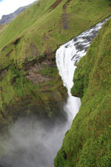Skogafoss - View from the top
