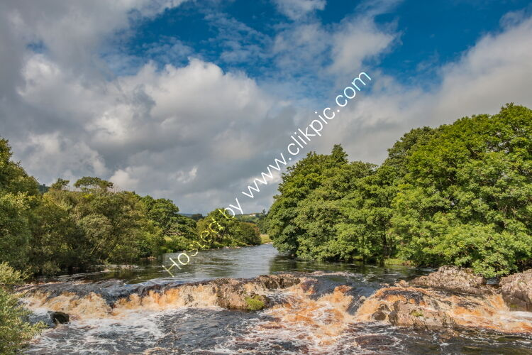 River Tees between Low Force and High Force in late summer