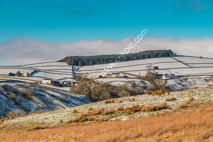 Over to Ettersgill from Ash Hill in Winter