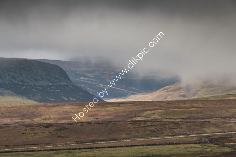Clouds Lifting off Cronkley Scar and Widdybank Fell