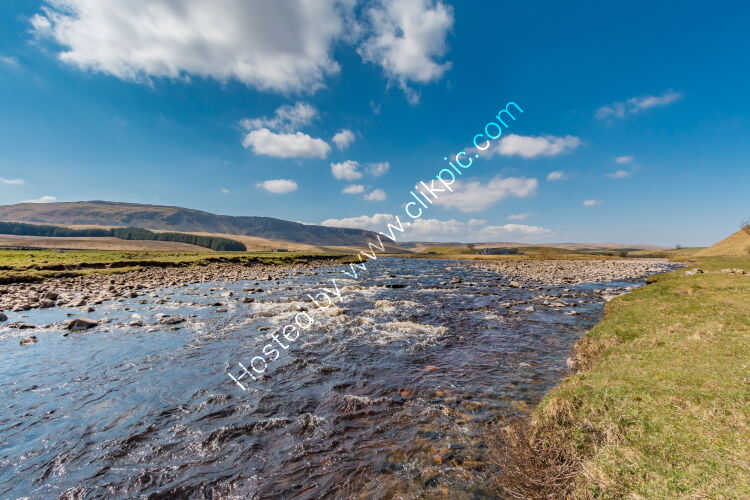 Harwood Beck and River Tees Confluence at Cronkley
