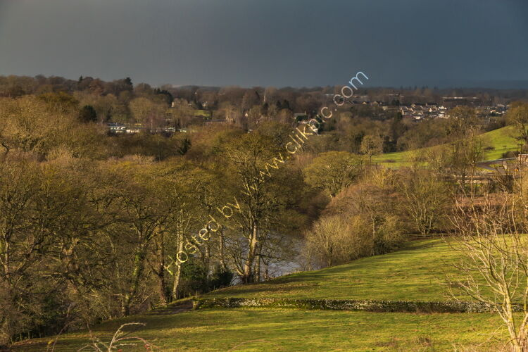 Dramatic Light and Approaching Winter Squall