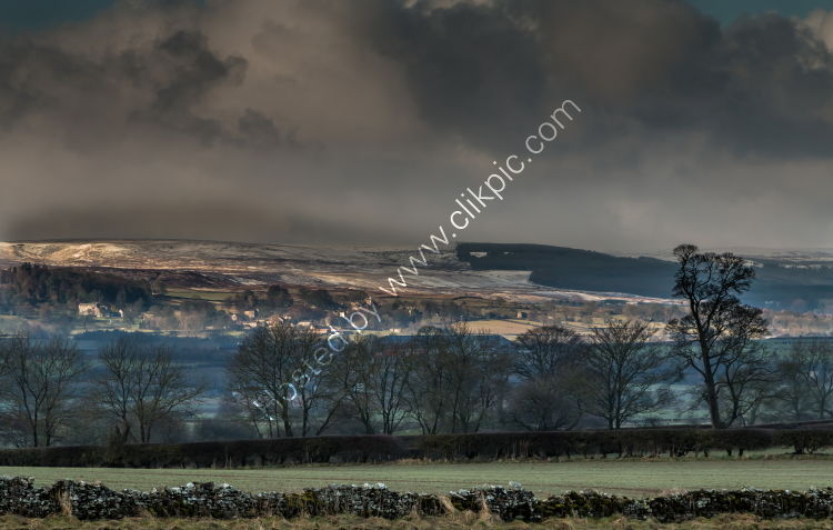 Over to Barningham on a Winter Morning