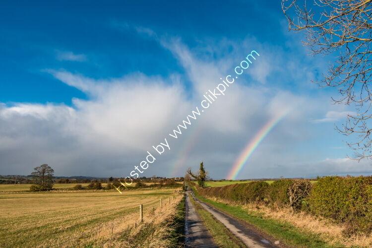 Double Rainbow at Van Farm