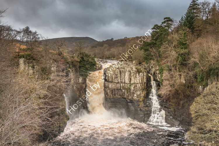 High Force in Spate after Storm Brendan