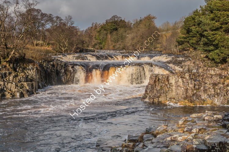 Winter Sun at Low Force Waterfall