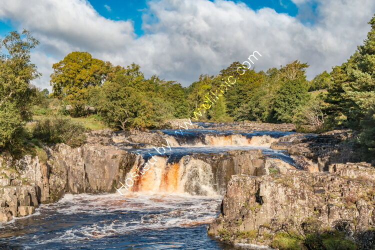 Low Force Waterfall in Early Autumn