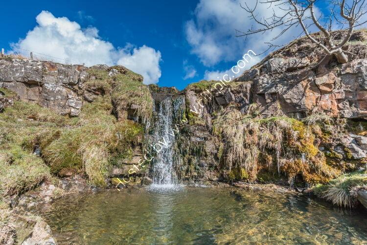 Moorland Beck and Waterfall