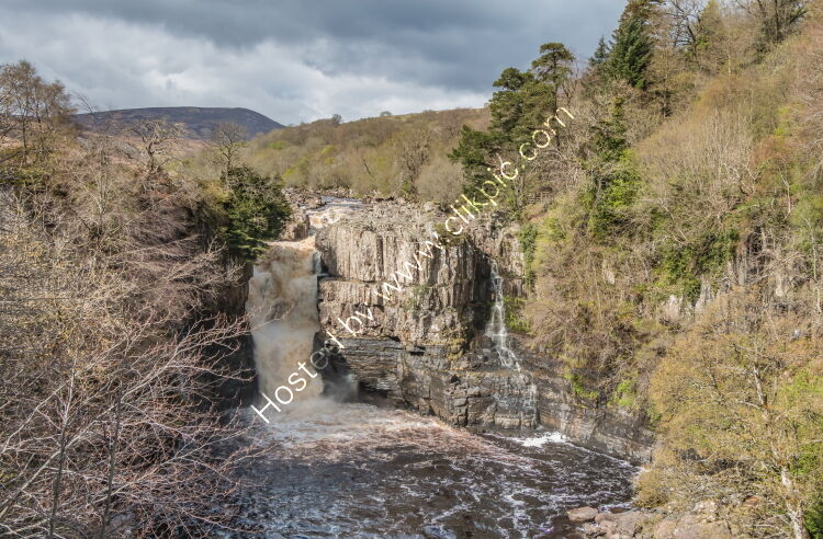 High Force in Spring Sunshine
