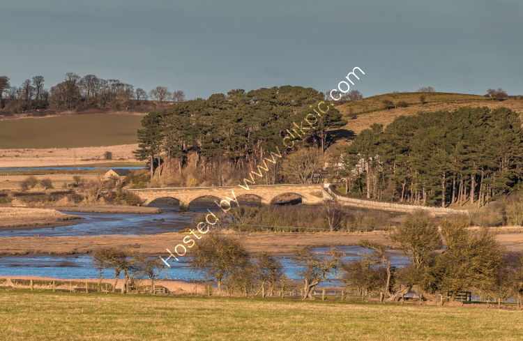 The Duchess Bridge over the River Aln at Alnmouth