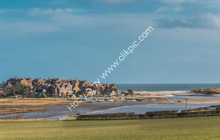 Alnmouth Village and Harbour, Northumberland
