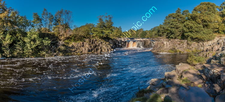 A Perfect Autumn Morning at Low Force Waterfall